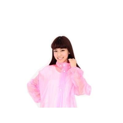 【透明水晶前開式雨衣】QQ果凍雨衣 雙龍牌 機車專用