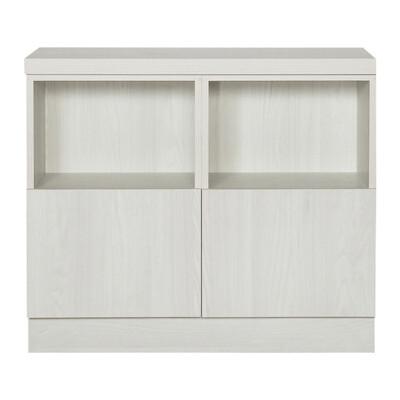 【ARKHOUSE】伯利恆系列-書房雙門四格對開門3.3尺雙矮櫃 W100*H78*D35