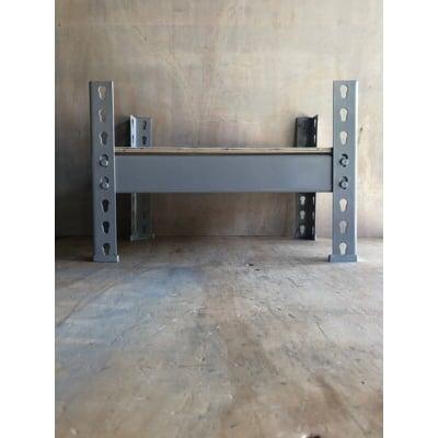 免螺絲角鋼架(組合式)小物收納 長45*深30*高30CM/單層架-白色
