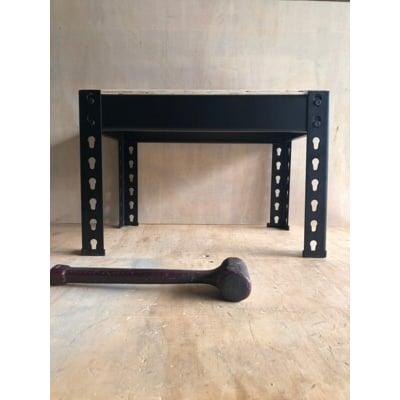 免螺絲角鋼架(組合式)小物收納 長45*深30*高30CM/單層架-黑色