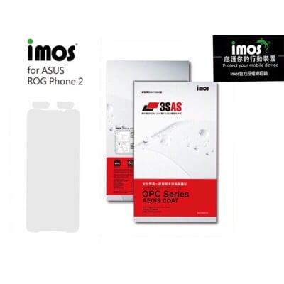 子奇 imos 3SAS ASUS ROG Phone 2 ZS660KL 雷射切割螢幕保護貼