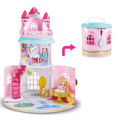 【孩子國】韓版迷你娃娃屋系列- 魔法城堡 / 家家酒玩具