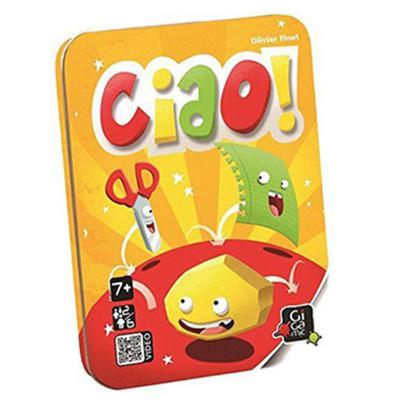 【 法國桌遊 Gigamic 益智遊戲 】Ciao! 剪刀石頭布