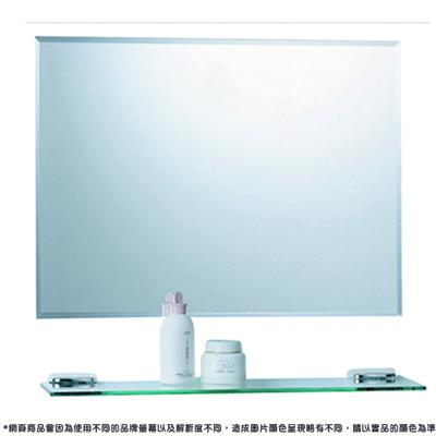 【洗樂適衛浴CERAX】無銅防霧化妝鏡橫掛60x45cm(LT-800-6)