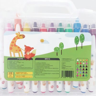【GCT玩具嚴選】24色炫彩筆攜帶組 水彩畫 渲染
