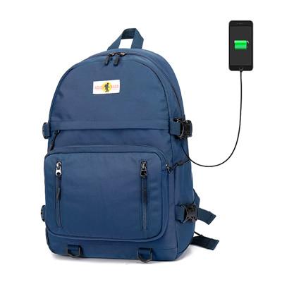 學院風學生書包旅行背包14吋筆電包--夏日時光