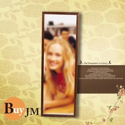 《BuyJM》BuyJM  典藏實木壁鏡