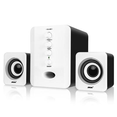 2.1聲道高低可調節電腦音箱