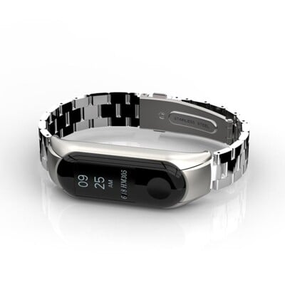 小米手環23代二三代NFC版金屬錶帶腕帶金屬不銹鋼米蘭尼斯磁吸式替換腕帶