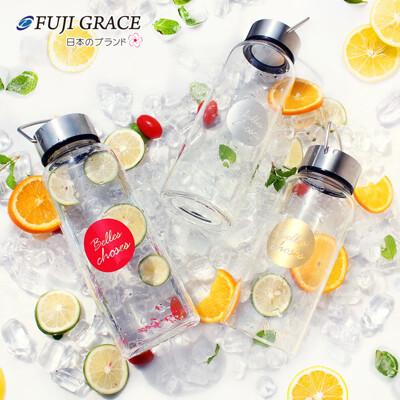 【FUJI-GRACE】高硼矽耐熱手提玻璃瓶1000ml
