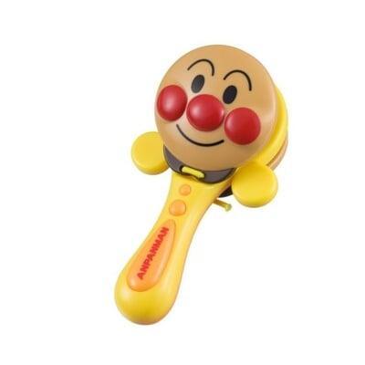 日本進口 麵包超人 Anpanman 大臉律動響板玩具 響板 樂器 音樂 玩具