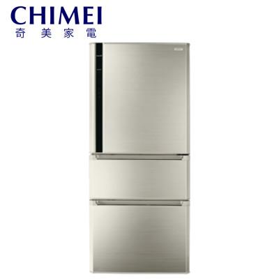 [CHIMEI 奇美]610公升 三門智能省電變頻冰箱-典雅金 UR-P61VC1