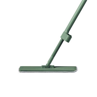 QUICK MOP 免手洗高效平板拖把1入(綠)