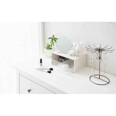 【吉川國】木紋層架(附收納盒-白色)《秀品屋》