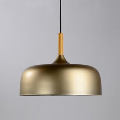 18PARK-木棧道吊燈-13色 [香檳,32cm]-含燈泡組合(5W*1)