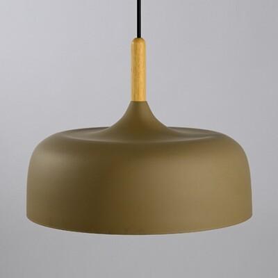 18PARK-木棧道吊燈-13色 [卡其,32cm]-含燈泡組合(5W*1)