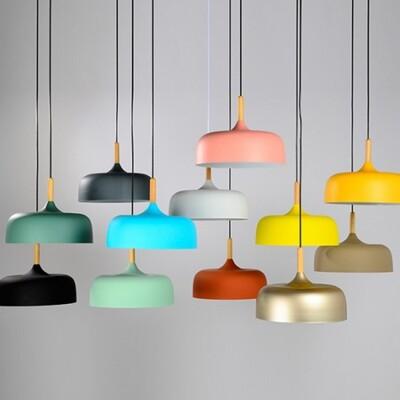 18PARK-木棧道吊燈-13色 [亮白,32cm]-含燈泡組合(5W*1)