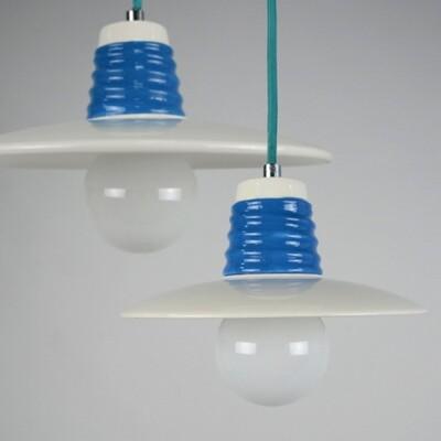 18PARK-亨瓷吊燈 [藍色,21cm]