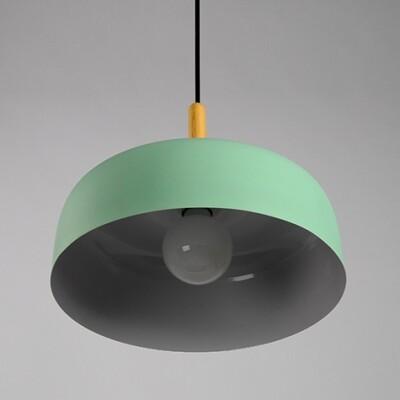 18PARK-木棧道吊燈-13色 [淺綠,32cm]-含燈泡組合(5W*1)