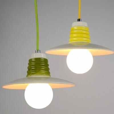 18PARK-亨瓷吊燈 [綠色,21cm]