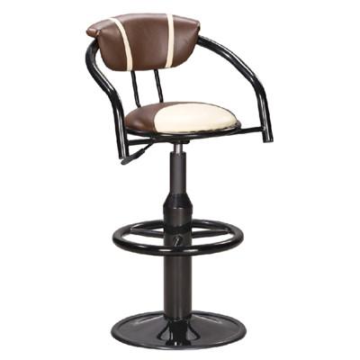【ONE 生活】杜歐圓盤吧台椅(咖啡白)