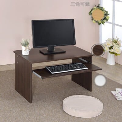 小空間和室電腦桌 小電腦桌 寬2和室桌台灣製造(胡/白/木) ONE HOUSE生活館