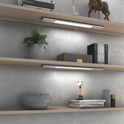 香港 HEIM SOL 革新派無限智能感應LED燈 超輕超薄 含磁鐵吸附 (銀色)
