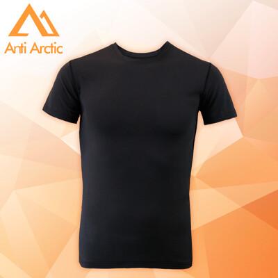 3M-【Anti Arctic】遠紅外線機能衣-男短袖-黑