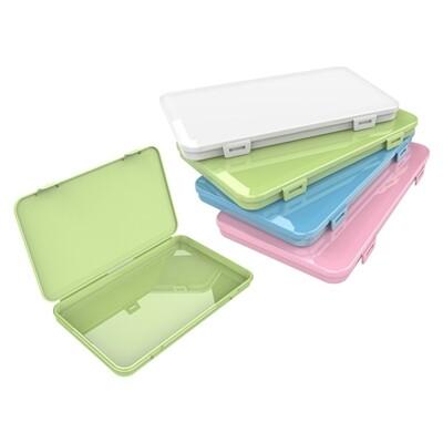 平面口罩收納盒(1入) 顏色隨機出貨 口罩收納/口罩收納盒/收納盒
