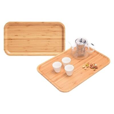 日式竹製茶水托盤(長方形30x20x2cm)1入 托盤/茶水托盤/廚具