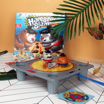 磁力相撲倉鼠 相撲對戰 桌遊 遊戲玩具 團康活動 摔角遊戲 倉鼠摔角【CF146018】