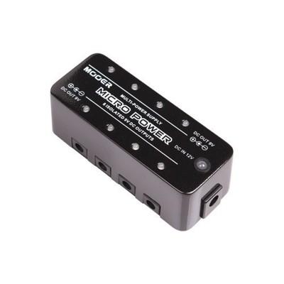 mooer micro power 電吉他/電貝斯單顆效果器電源供應器[唐尼樂器] - 標準