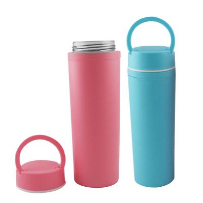 水瓶 水壺 杯子 玻璃水瓶 炫彩玻璃水瓶 玻璃杯防烫杯子