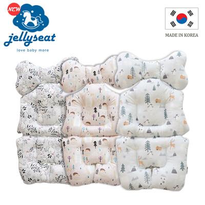【韓國jellyseat】全方位3D超彈力 嬰兒推車座墊(透氣排汗)_四季款/多色可選