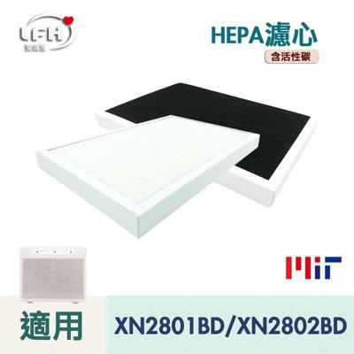 HEPA濾心 適用 東元 XN2801BD / NN2802BD空氣清淨機 空氣靜電濾網