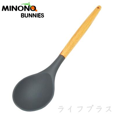 【一品川流】MINONO 米諾諾不沾鍋櫸木矽膠拌炒匙