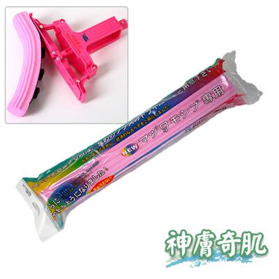 【神膚奇肌】日本魔術拖把替換頭膠棉拖把補充包非驅塵式花仙子3M