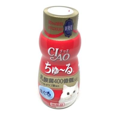 [日本公司貨] Ciao 乳酸菌 肉泥膏 80g 貓零食(鮪魚 干貝 化毛 鮪魚)另售 胖胖瓶 CS
