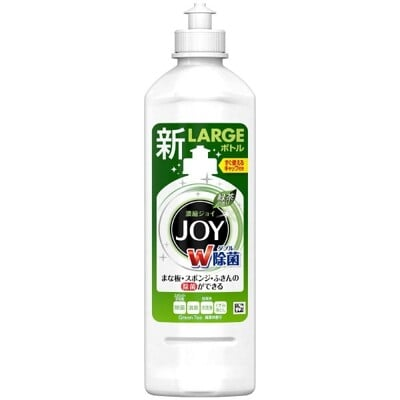 【 P&G JOY】 日本進口熱銷  強力去污濃縮洗碗精(綠茶)本體-440ml