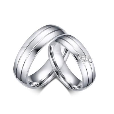 《316小舖》c529(優質鈦鋼戒指-簡單幸福情侶鋼戒-單件價 /銀色對戒/情人對戒/交換禮物/聖誕