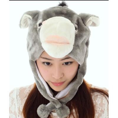 ☆派對達人☆ 舞會道具.尾牙道具,.獅子帽.猴子帽.兔子帽.各類動物帽/驢子帽