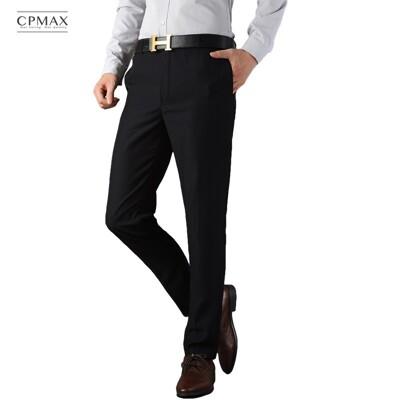 CPMAX 休閒修身西裝褲 面料挺直 商務服裝 西裝褲  男西裝褲 E08