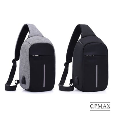 CPMAX 背包 側背包 大容量包 胸包 槍包 防盜包 側背包 O21