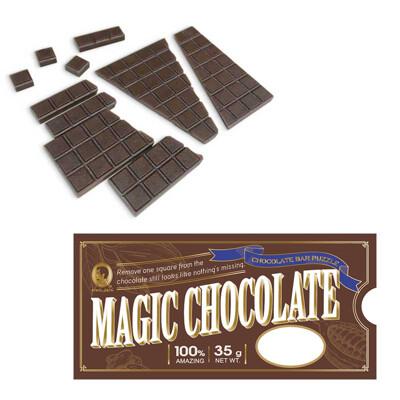 賽先生科學工廠│科學魔術系列 / 吃不完的巧克力拼圖