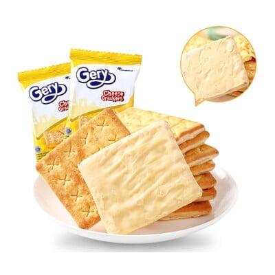 【Gery】厚醬起司/椰香/椰香巧克力 蘇打餅 (20包=40片入)