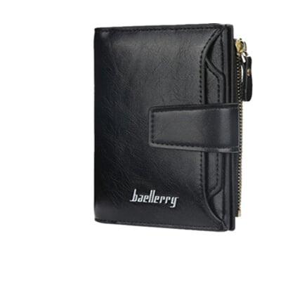 【ahappy172】韓系時尚皮夾搭扣皮夾 零錢包 明星款錢包  拉鏈短夾 時尚可愛拉鍊短夾