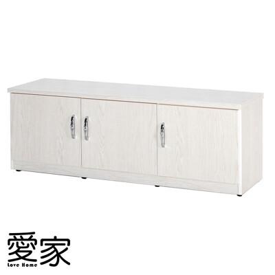【愛家】防水塑鋼4尺座鞋櫃-寬122.5深37高45cm(11色可選)