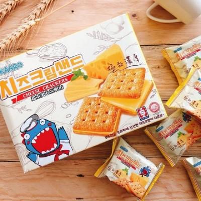【KAARO】超濃起司餅乾(8包/盒;208g公克/盒)