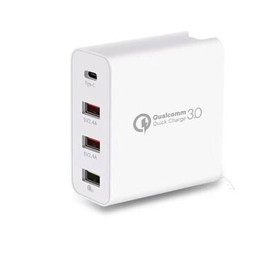18W PD + QC3.0 4孔 多接口 USB 充電器 快充頭 快充 閃充
