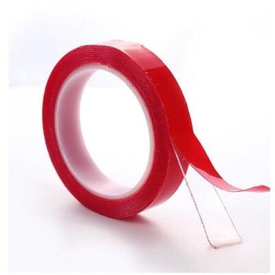 艾比讚 (寬20mm) 透明雙面無痕強力膠條【L037】無痕透明 黏性十足 耐高低溫 不留殘膠